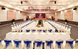 Van Phat Riverside is Can Tho hotel with a large-scale Conference - Wedding Center area with a capacity of up to 1000 people