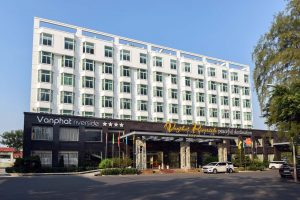 Van Phat Riverside is one of the most popular riverside hotels in Can Tho today