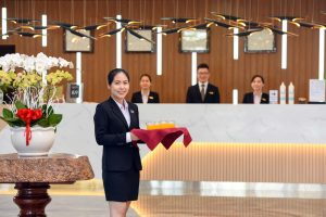 Guests will always feel comfortable and satisfied with the professional support and enthusiasm of the staff at Van Phat Riverside Hotel